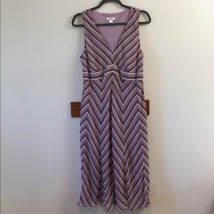 Ann Taylor LOFT Sz 12 sleeveless dress
